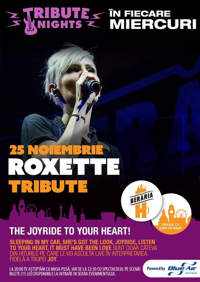 Afiș Roxette Tribute Concert 2015