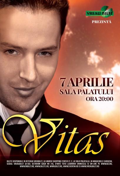 Poster eveniment ANULAT - Vitas