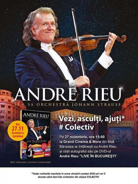 Coperta Andre Rieu - Live in Bucuresti