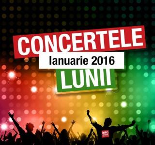 Concerte ianuarie 2016