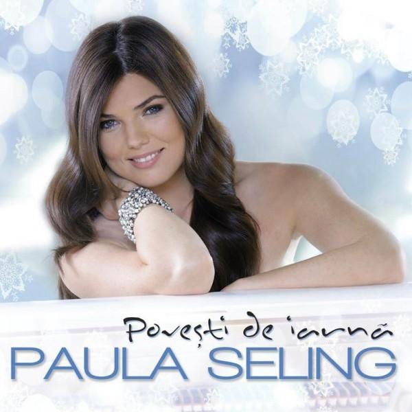 Paula Seling - Povești de iarnă (copertă album)