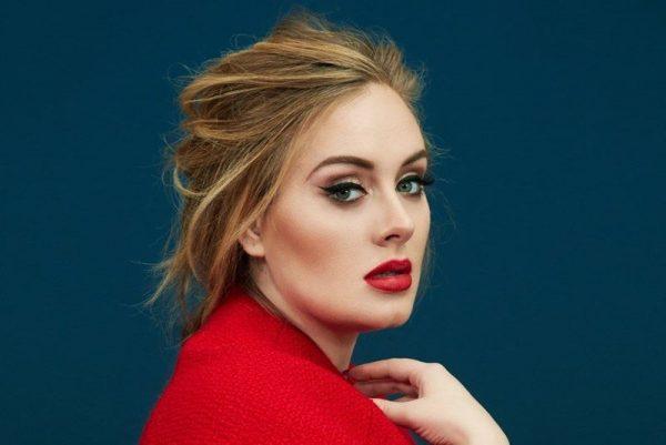 Adele pe coperta revistei Time