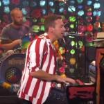 Coldplay, live la Ellen