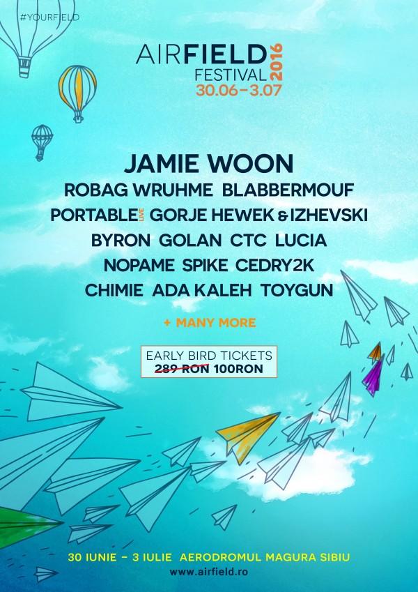 Airfield Festival 2016, Sibiu
