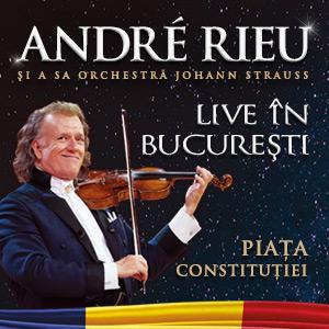 Andre Rieu la Piața Constituției