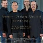 Concert Anour Brahem Quartet la Sala Radio București, 2016