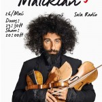 Concert Ara Malikian la Sala Radio București 2016