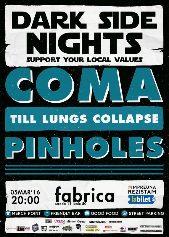 Dark Side Nights 3: Coma la Fabrica