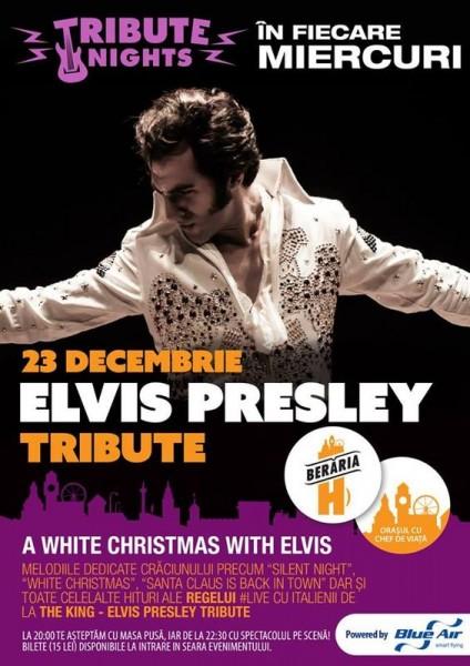 Poster eveniment Elvis Presley Tribute