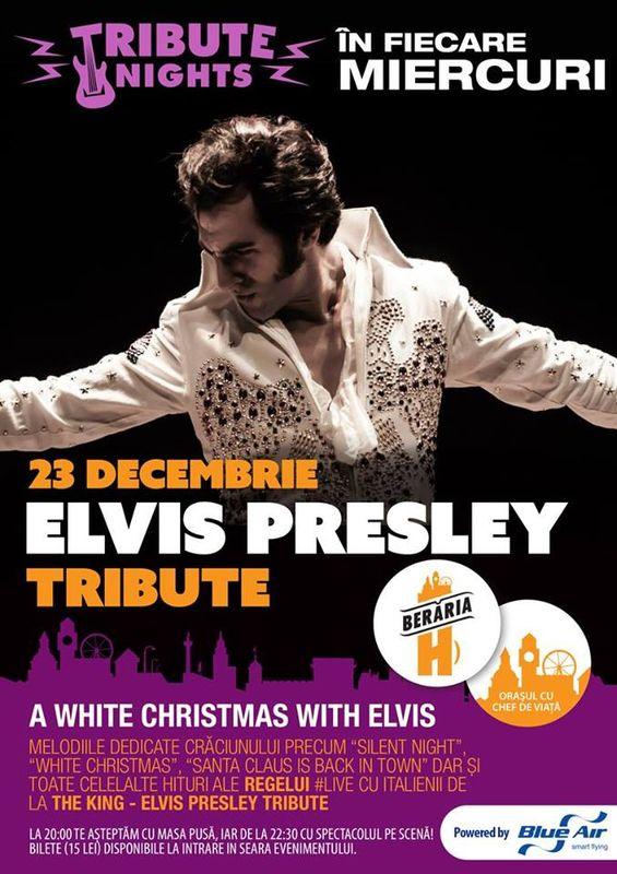 Elvis Presley Tribute la Berăria H