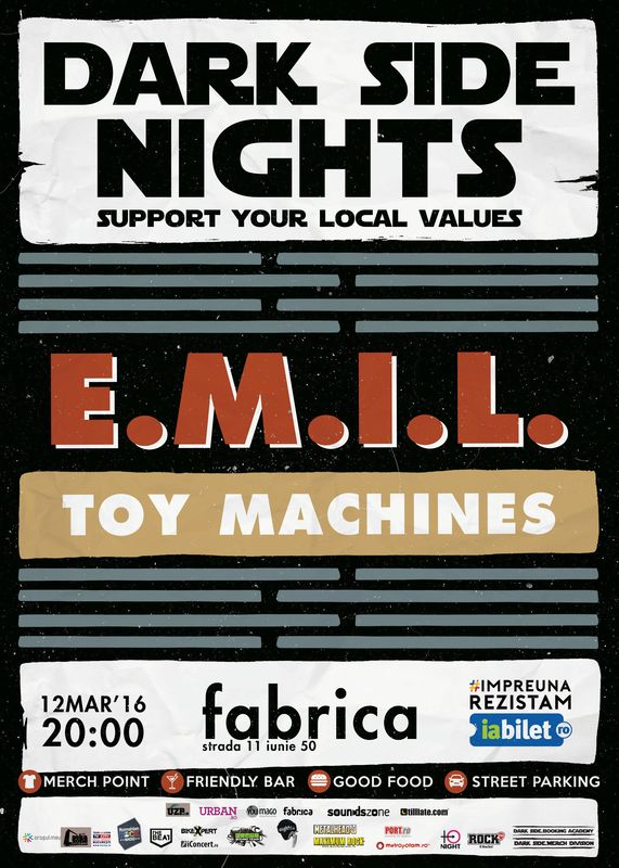 Dark Side Nights 3: E.M.I.L. Electric la Fabrica