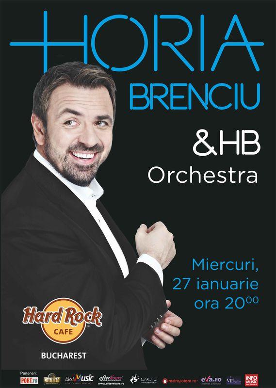 Concert Horia Brenciu și HB Orchestra la Hard Rock Cafe București, 2016