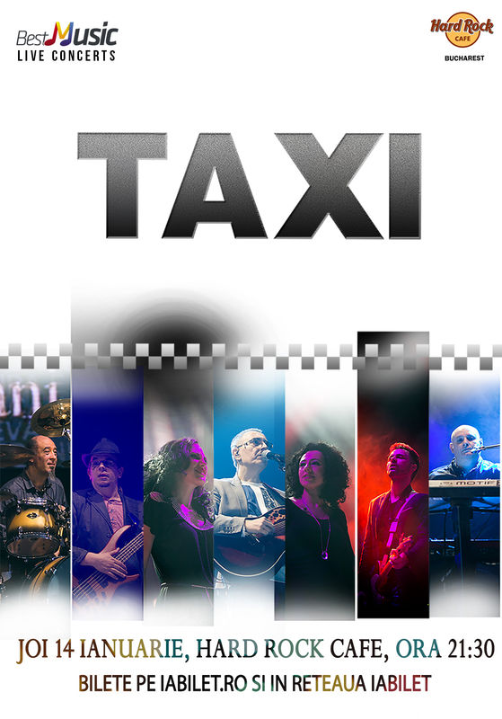 Concert Taxi la Hard Rock Cafe Bucuresti, 2016