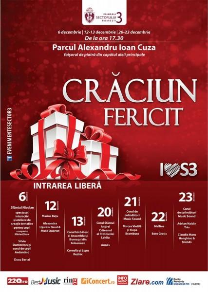 Concerte de Crăciun 2015, București