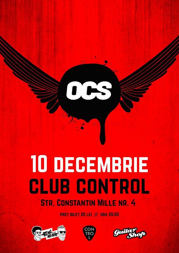 Concert Omul cu sobolani in Club Control, 2015
