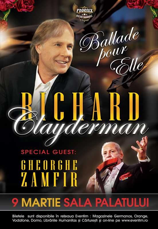 Richard Clayderman | Gheorghe Zamfir la Sala Palatului