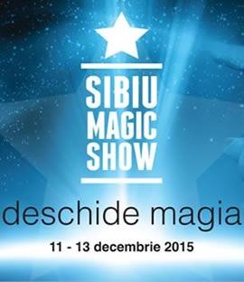 Afiş Sibiu Magic Show Fest 2015