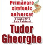 Afiș Tudor Gheorghe Concert Primavara Simfonic 2016