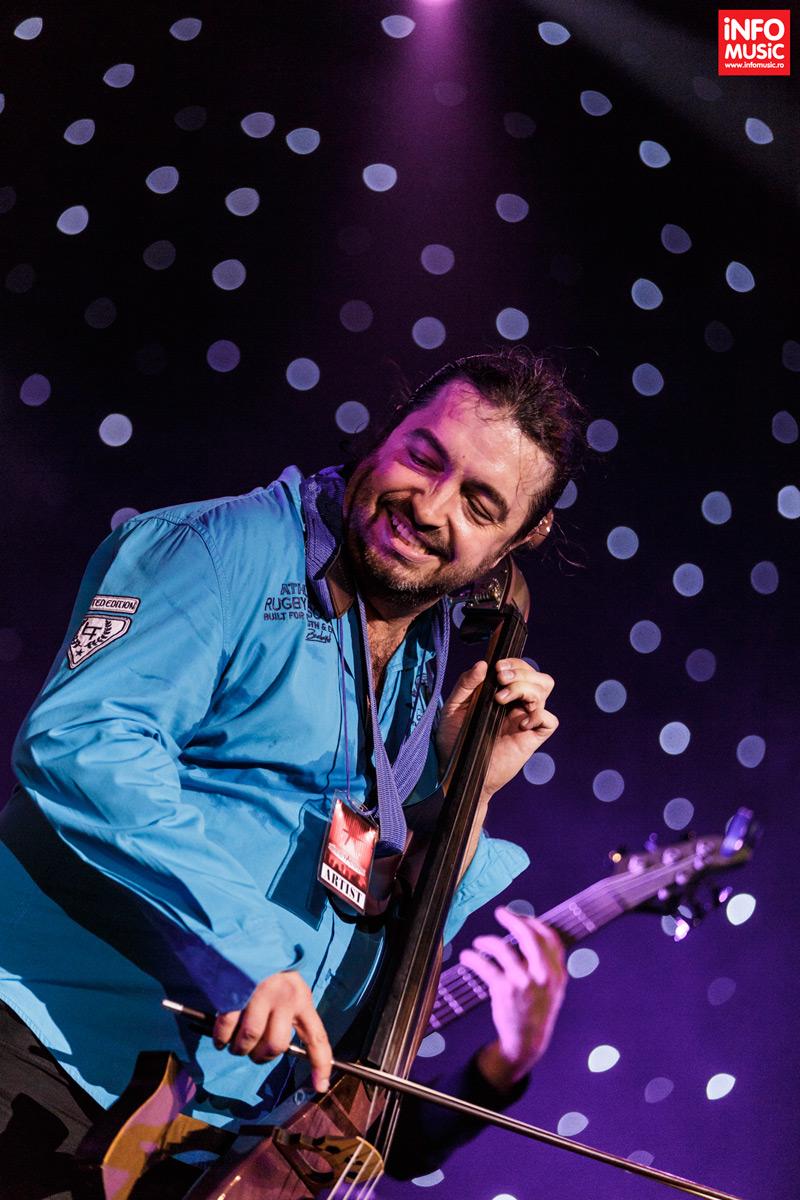 Jazz meet Rock - Adrian Naidin și invitații săi la Clubul Țăranului Român