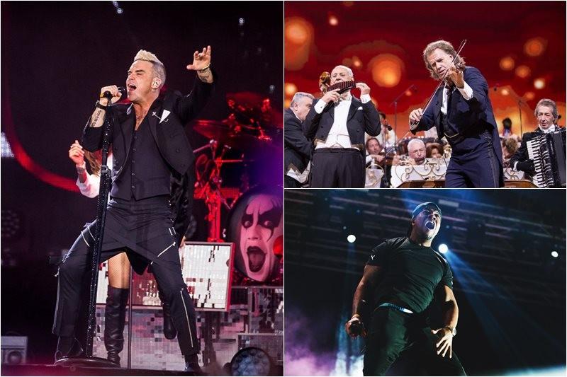 Concertele și festivalurile anului 2015
