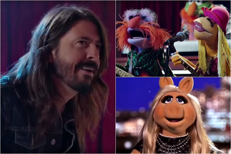 Dave Grohl (Foo Fighters) & The Muppets