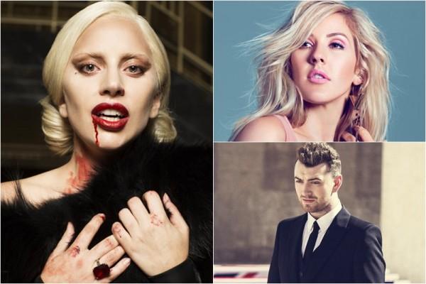 Lady Gaga / Ellie Goulding / Sam Smith