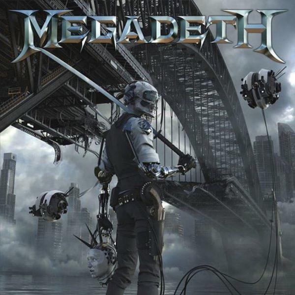 """Megadeth - """"Dystopia"""" (copertă album)"""