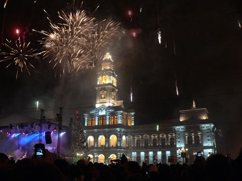 Revelion 2016 la Arad