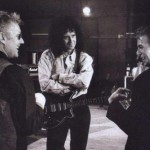 Roger Taylor, Brian May, David Bowie