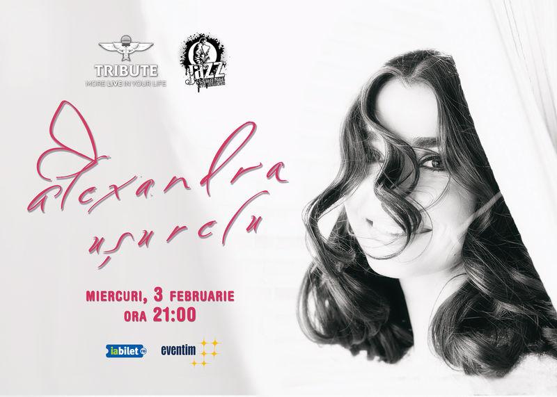 Afiș Alexandra Ușurelu Concert Club Tribute 2016