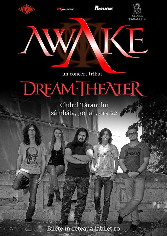Afiș Awake Concert Clubul Taranului 2016