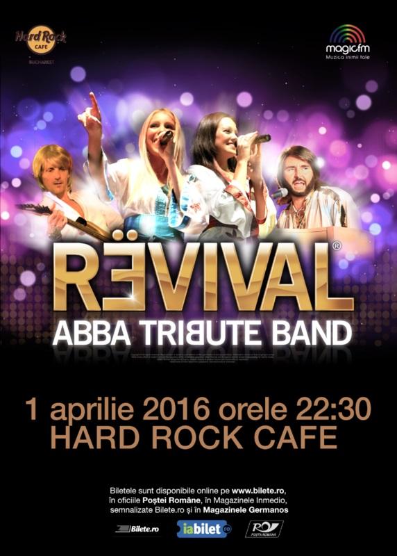 Revival - ABBA Tribute la Hard Rock Cafe