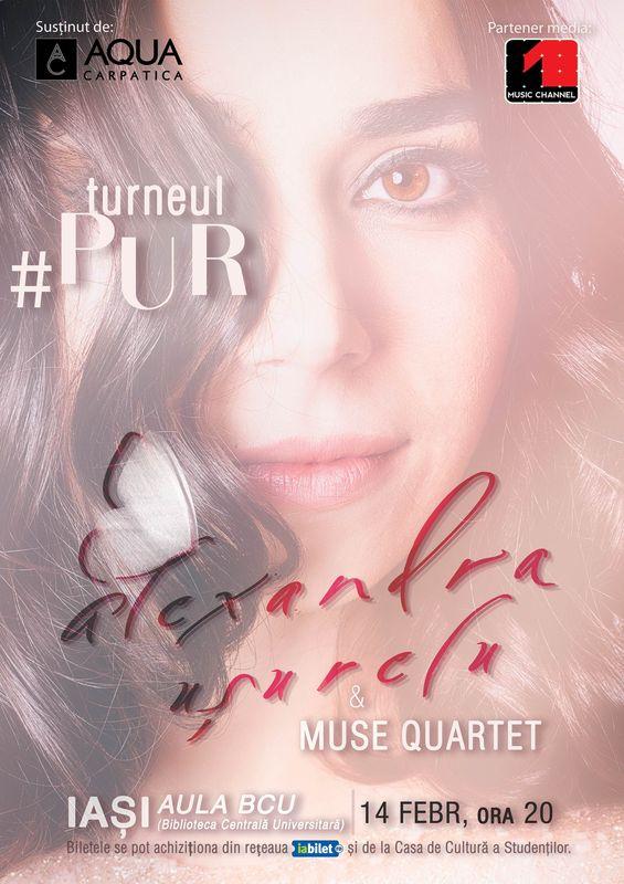 Alexandra Ușurelu & Muse Quartet #PUR la