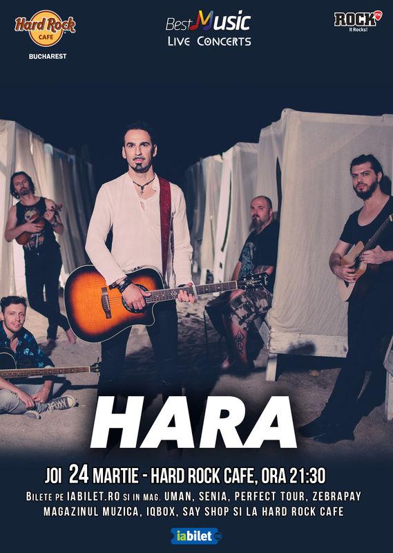 Hara la Hard Rock Cafe