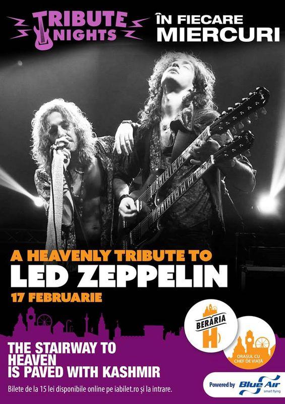 Led Zeppelin Tribute la Berăria H
