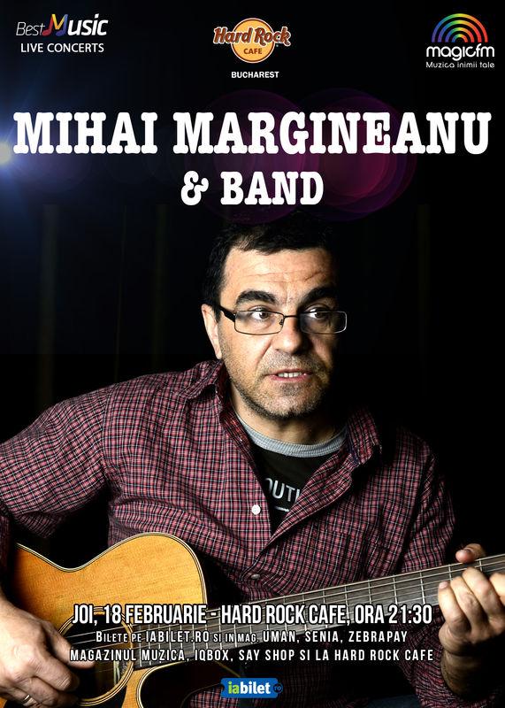 Concert Mihai Mărgineanu & Band la Hard Rock Cafe București, 2016