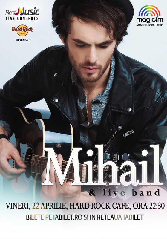 Sold-out: Mihail & Live Band la Hard Rock Cafe