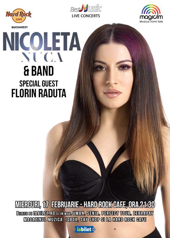 Concert Nicoleta Nucă la Hard Rock Cafe București, 2016