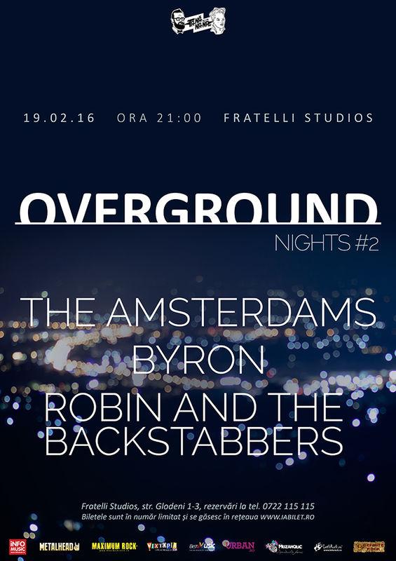 Overground Nights 2 la Fratelli Studios