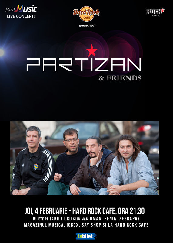 Partizan la Hard Rock Cafe
