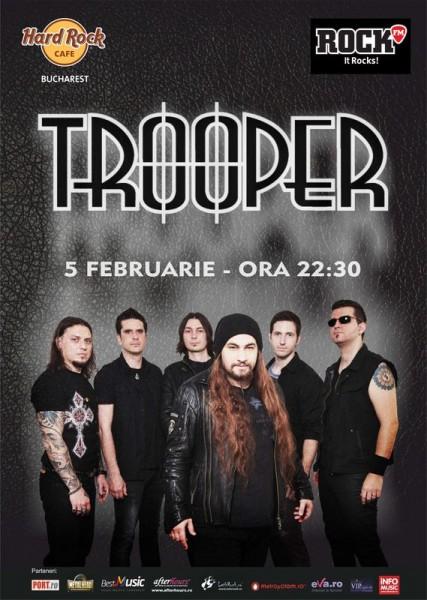 Concert Trooper la Hard Rock Cafe, 2016