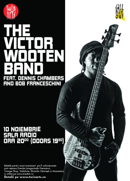 Poster eveniment The Victor Wooten Band