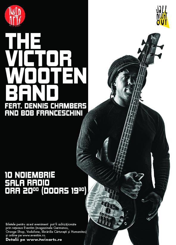 The Victor Wooten Band la Sala Radio