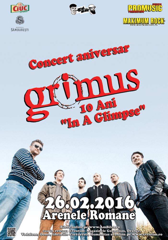 Concert Aniversar Grimus la Arenele Romane, 2016