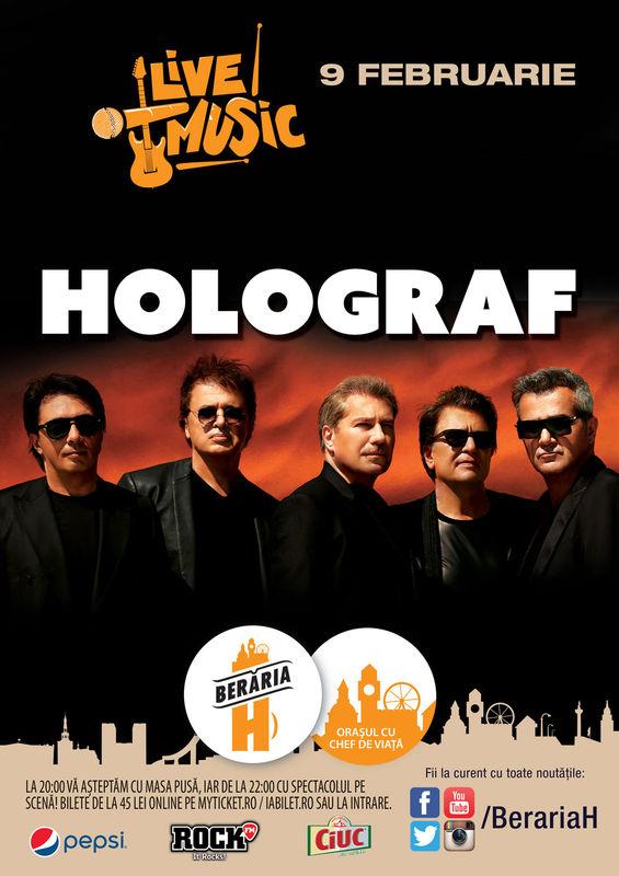 Concert Holograf la Berăria H, 2016
