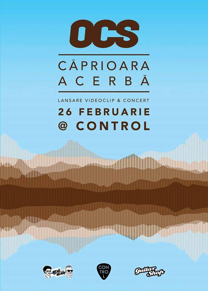 Afiş OCS concert Control 2016