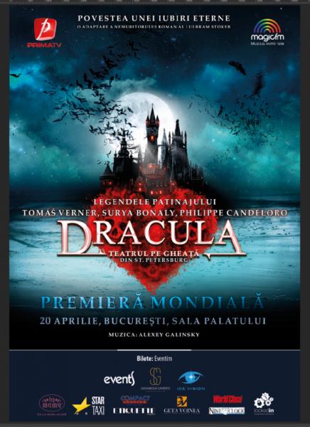 Poster eveniment ANULAT - Dracula pe Gheață