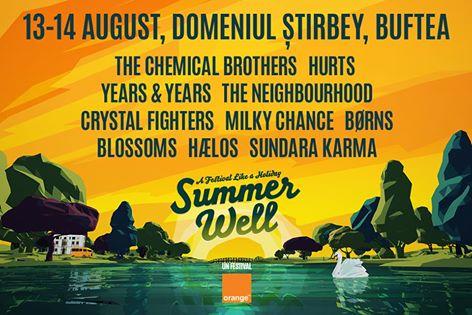 Summer Well 2016 la Domeniul Știrbey