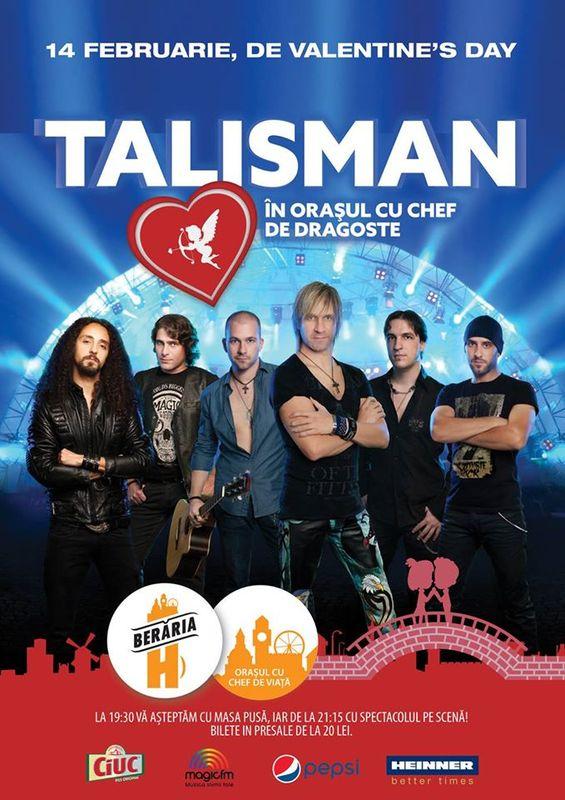 Afiș Talisman Concert Berăria H 2016