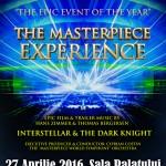 Afiș The Masterpiece Experience la Sala Palatului 2016